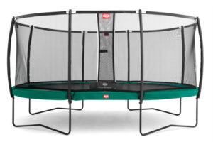 BERG Trampolin Grand Champion Sicherheitsnetz Deluxe Airflow