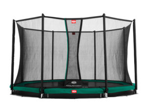 BERG Trampolin Inground Champion 330 mit Sicherheitsnetz Comfort
