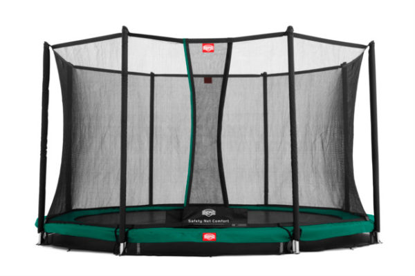 BERG Trampolin Inground Favorit 430 mit Sicherheitsnetz Comfort