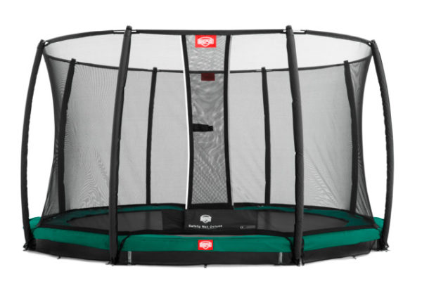 BERG Trampolin Inground Favorit 430 mit Sicherheitsnetz Deluxe