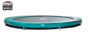Berg Trampolin Sports Inground Elite green 430