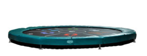 Berg Trampolin Sports Inground Elite Tattoo green 430